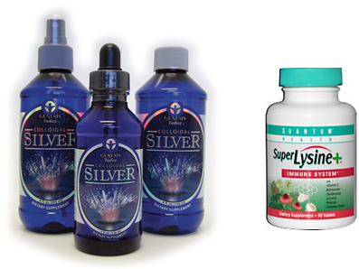 colloidal silver shingles remedy