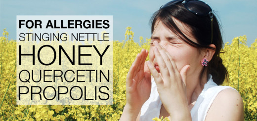 stinging-nettle-honey-quercetin-propolis-for-allergies